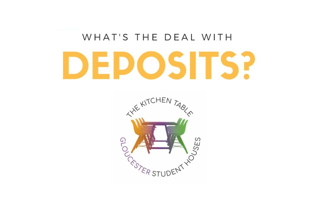 What's the deal with student deposits?