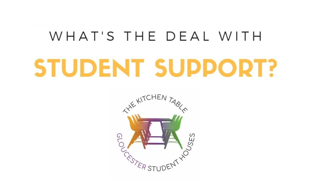 What's the deal with student support?